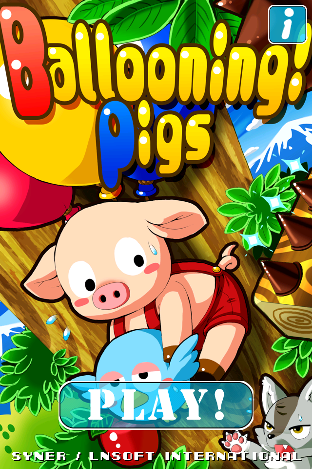 Screenshot Ballooning Pigs for iPhone/iPad